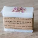Savon Loofah à la Violette - La Petite Fabrique savonnerie