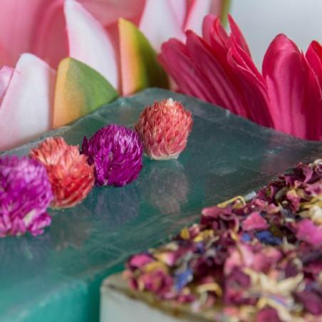 Thé Vert, Concombre et Fleur de Trèfle - La Petite Fabrique savonnerie