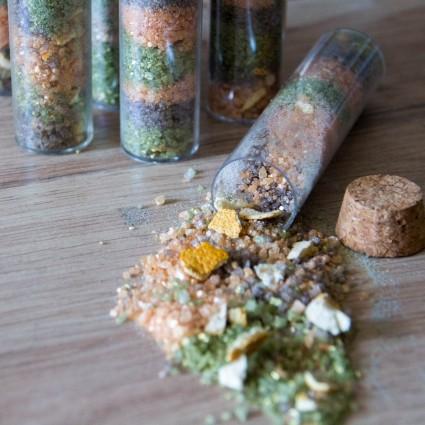 """Potion de Bain """" Autumn Peace"""" au sel de l'Himalaya - La Petite Fabrique savonnerie"""