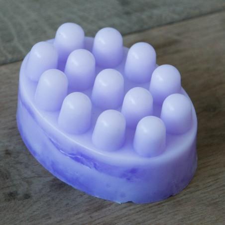 Savon de massage à la Fleur de Lavande - La petite fabrique savonnerie