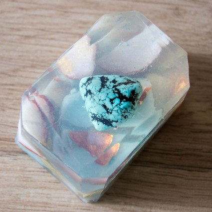 Savon Turquoise - Communication & Empathie - La Petite Fabrique de savon