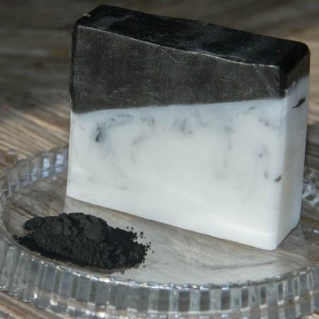 Charbon actif purifiant & Beurre de Karité -La Petite Fabrique savonnerie