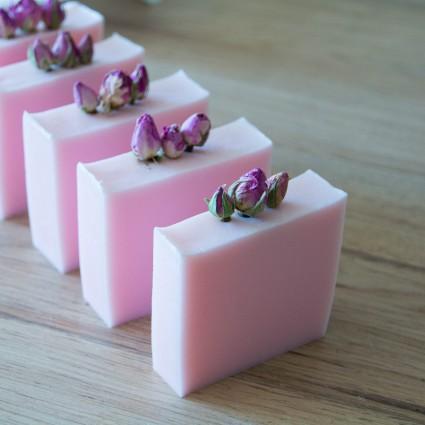 Palet de gommage - Lavande & Ylang Ylang - La Petite Fabrique savonnerie