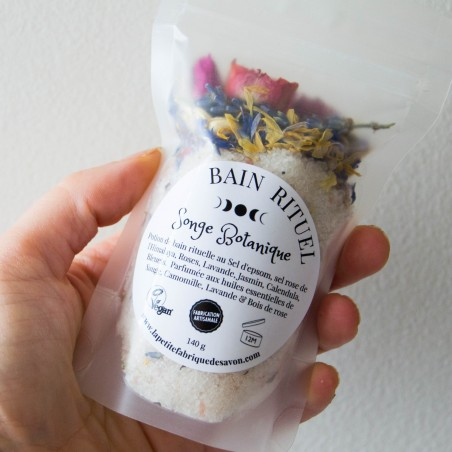 Potion de bain rituelle - Songe Botanique