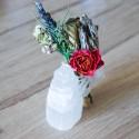 Box Radieuse - Eponge konjac, masque visage et savon charbon -La Petite Fabrique savonnerie