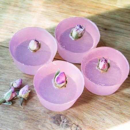 Savon Fleur de pêche & bouton de rose, box cocooning