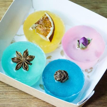 Box Cocooning - 4 savons assortis