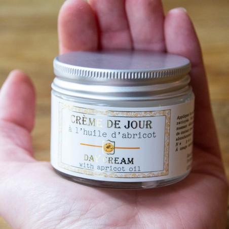 Crème de jour à l'huile d'Abricot