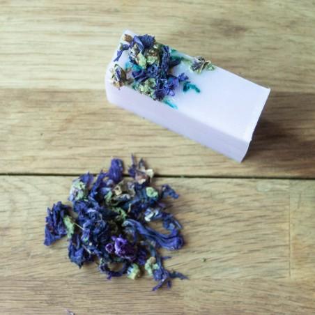 Savon hydratant Violette & Amande douce - Tout type de peau